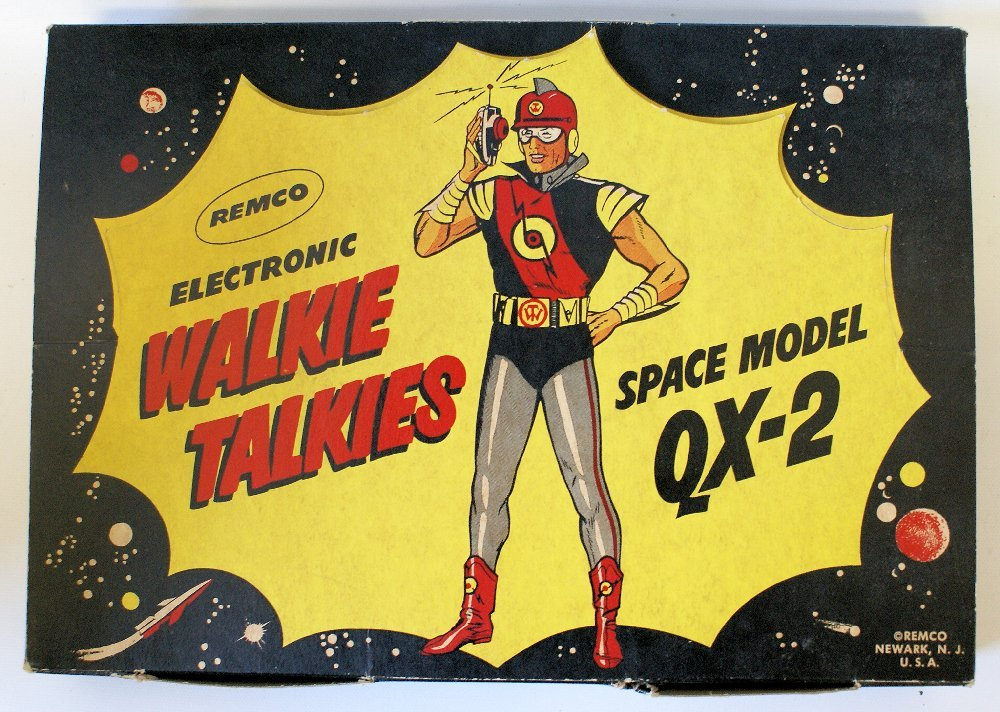 Vintage 50's REMCO QX-2 Space Model Electronic 2-Way