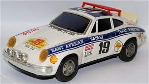 Vintage ALPS Japan BO Tin PORSCHE 911 CARRERA #19 East