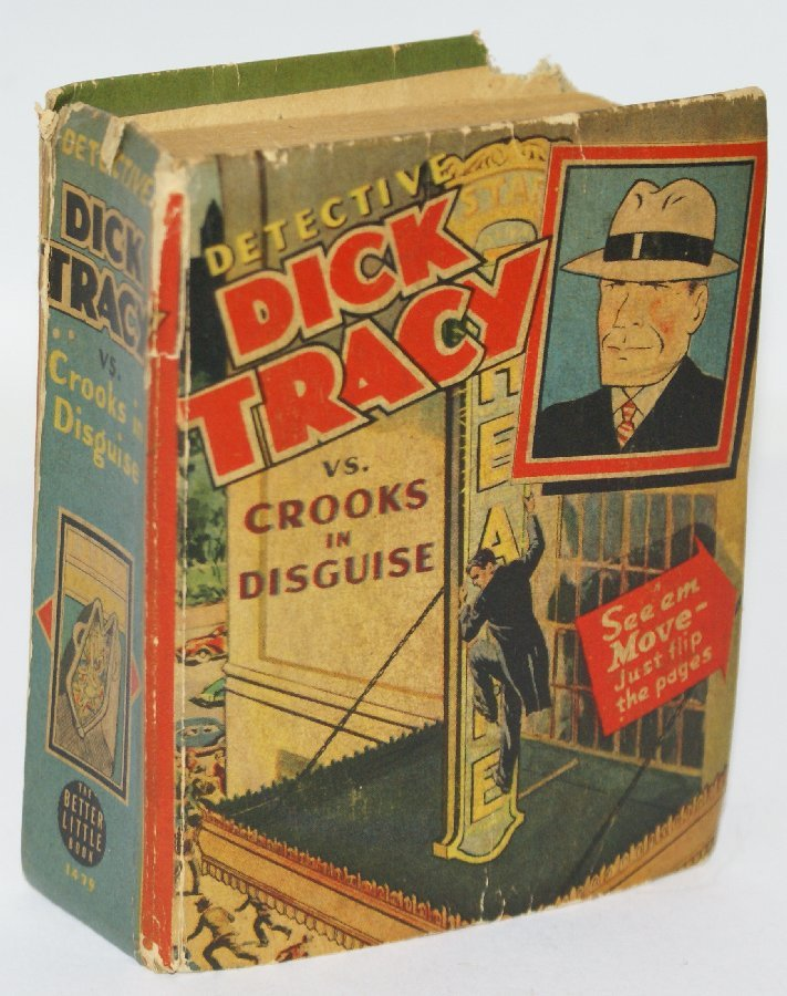 Vintage 1941 DICK TRACY VS. CROOKS IN DISQUISE #1479