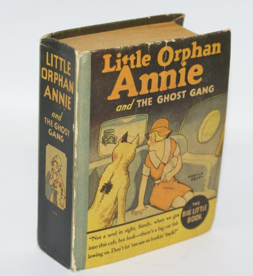 Vintage 1935 LITTLE ORPHAN ANNIE and the Ghost Gang