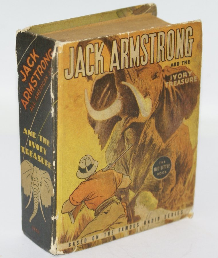 Vintage 1937 JACK ARMSTRONG and The Ivory Treasure