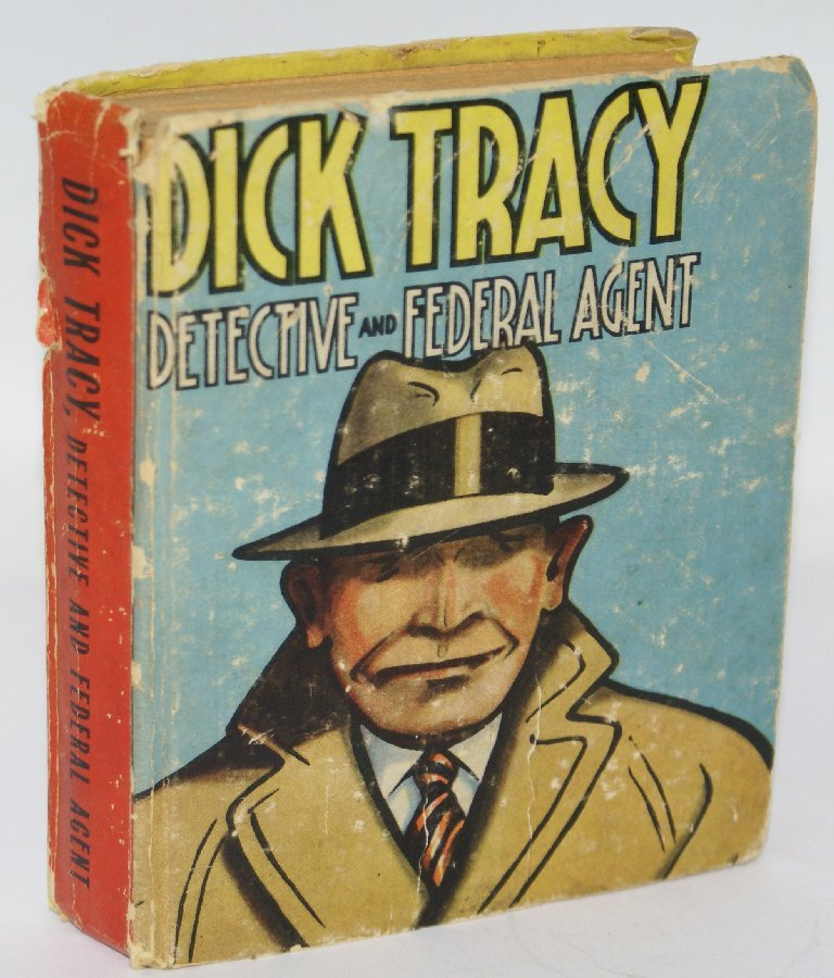 Vintage BLB 1936 Comic DICK TRACY Detective and Federal