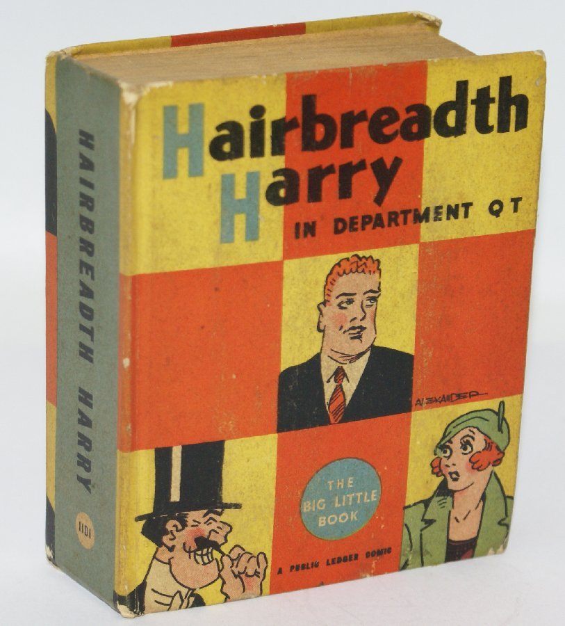 Vintage 1935 HAIRBREADTH HARRY in Department QT #1101