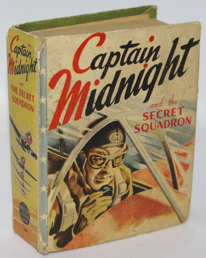 Vintage 1941 CAPTAIN MIDNIGHT and the Secret Squadron