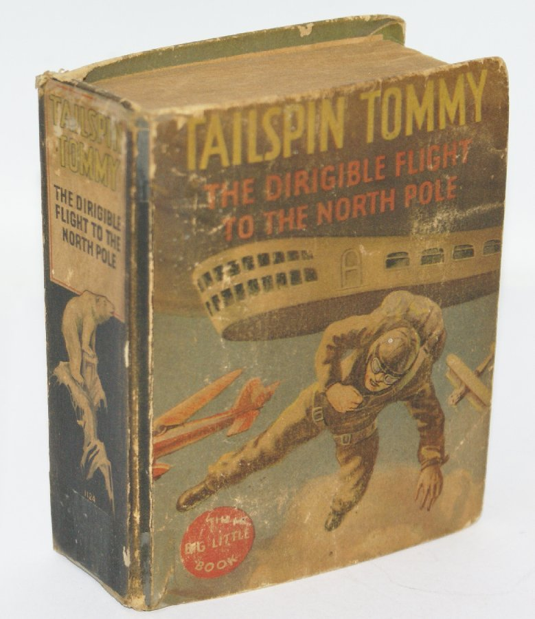 1934 TAILSPIN TOMMY, Dirigible Flight to North Pole