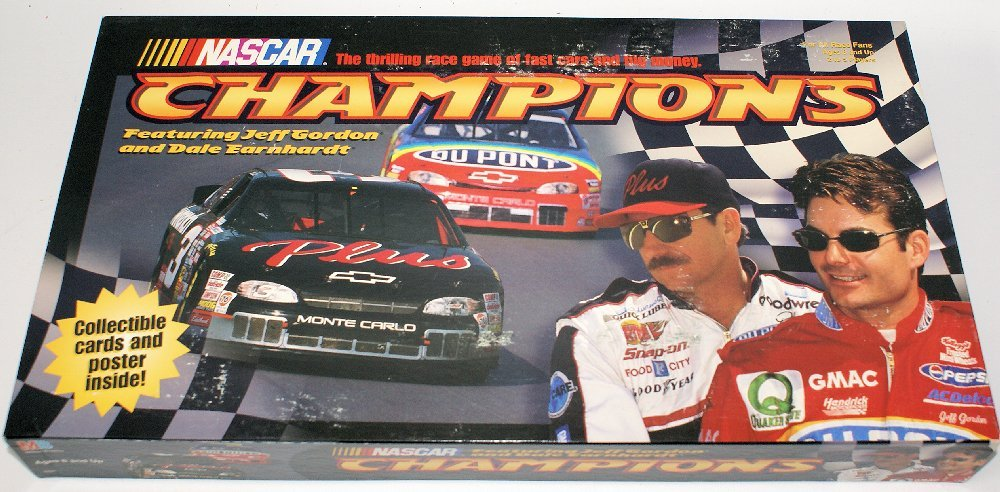 Vintage 1998 NASCAR CHAMPIONS Board Game, Jeff Gordon,