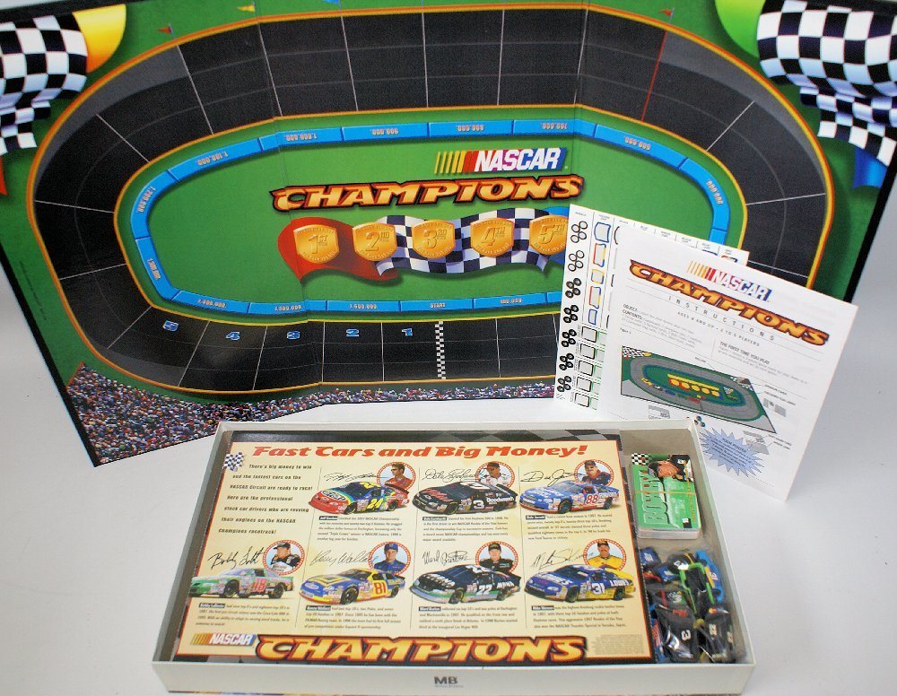 Vintage 1998 NASCAR CHAMPIONS Board Game, Jeff Gordon, - 2