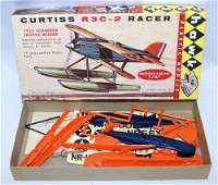 1961 HAWK 1:72 Scale CURTISS R3C-2 RACER Airplane Model