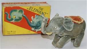 Windup THE ELEPHANT Figure, made by Masudaya, Modern