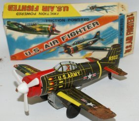 Ka Japan Tin Friction Us Army N903 Air Force Fighter