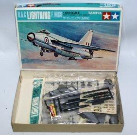 Tamiya 1:100 B.a.c Lightning F. Mk6 Plane Airplane