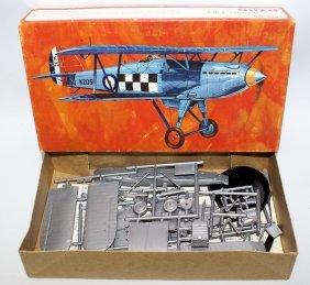 Pyro P-608 Hawker Fury R.a.f. Inceceptor Biplane Model
