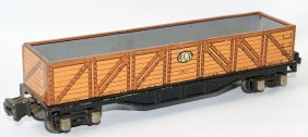 Prewar O Gauge Tin Lionel Ives Transition #1717 Gondola