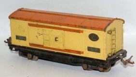 Prewar Lionel O Gauge Restored 817 Red Caboose Train