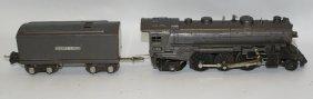Lionel O Gauge 2-6-2 Gunmetal 1666e Steam Locomotive &