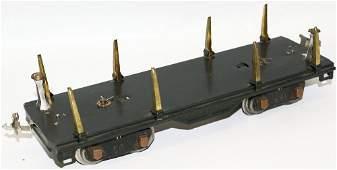 Prewar LIONEL Train Standard Gauge 511 Log Lumber Car