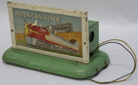 American Flyer S Gauge #566 Santa Fe Train Advertising