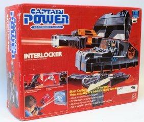 Mattel 1987 Captain Power Interlocker Vehicle For Lord