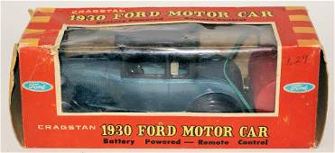 60's B.O. Remote #1337-6 1930 Ford Coupe Toy Car by