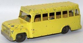 Diecast Hubley Yellow School Bus Toy
