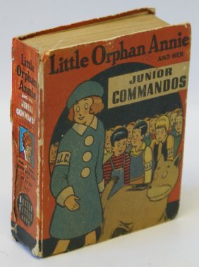 1943 Little Orphan Annie & Junior Commandos #1457 Big