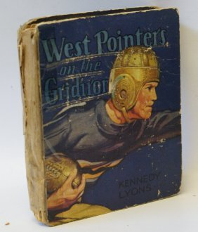 1936 West Pointers On Gridiron #1121 Saalfield Big