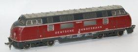 Fleischmann Ho 1381 Db V200 Diesel Locomotive Engine