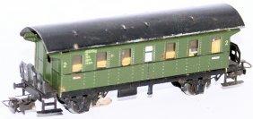 Marklin Ho 4002 Tin 2nd Class Passenger Car Coach