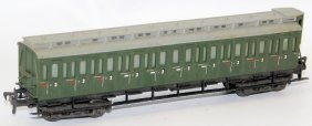 Ho Liliput 3rd Class Passenger Car Coach Wagen, Made In
