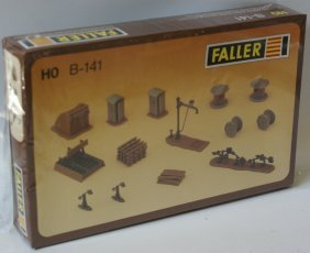 Ho Faller B-141 Model Rail Yard Work Site Accessories