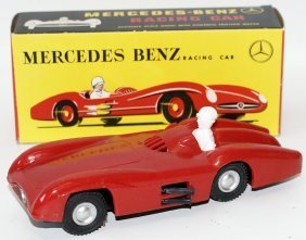 Mak's Plastic Mercedes Benz Friction Toy Racing Car In