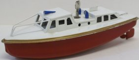 Sutcliffe Clockwork Cabin Cruiser Boat, Ln Condition,