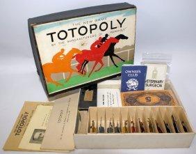 Ulra Rare Wwii Era Totopoly Board Game By John
