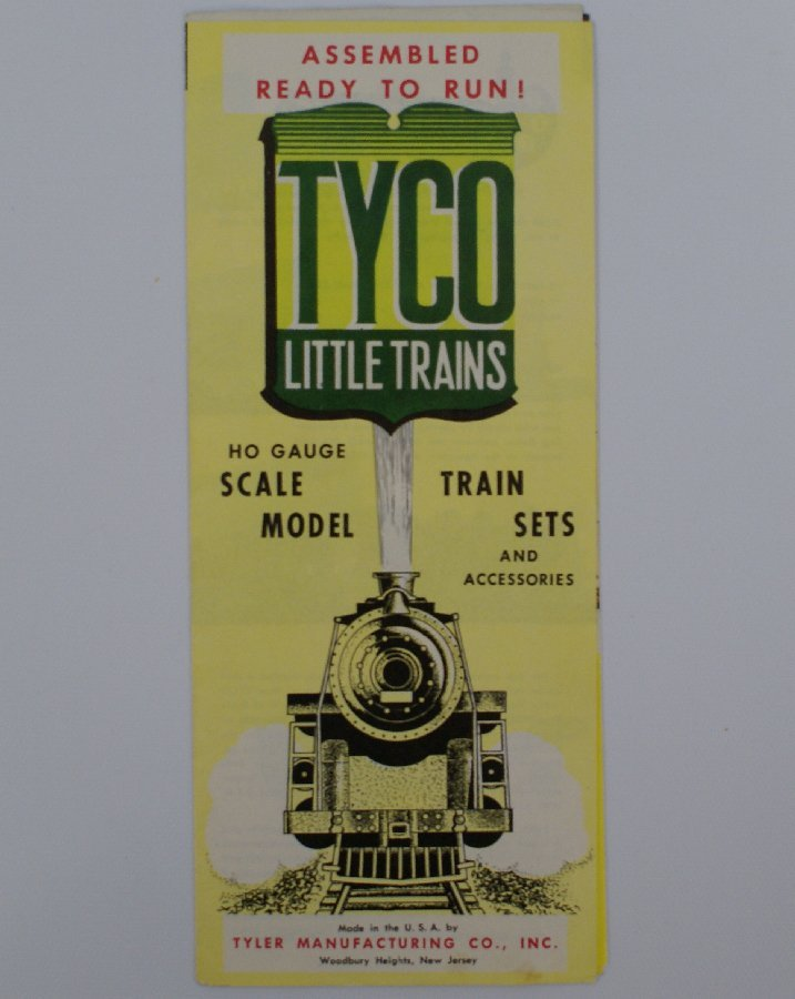 1960's TYCO HO Scale Train Sets and Accessories Catalog