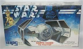 Vintage 1978 MPC STAR WARS DARTH VADERS TIE FIGHTER