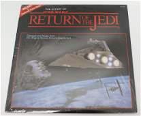 Vintage 1983 STAR WARS Return of the Jedi Vinyl LP