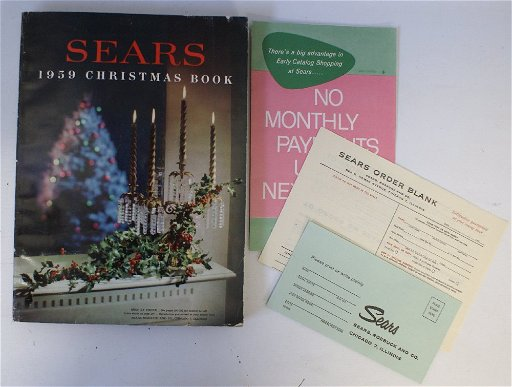 Sears Christmas Catalog.Vintage 1959 Sears Roebuck Christmas Catalog Wishbook Jul