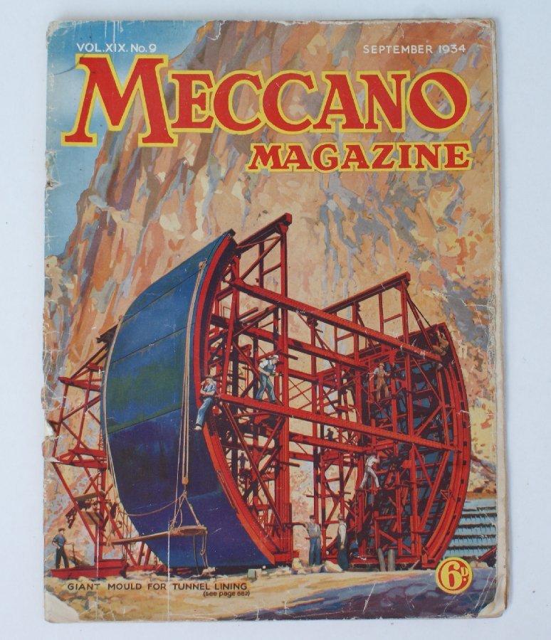 Vintage *September 1934* MECCANO Magazine Boys