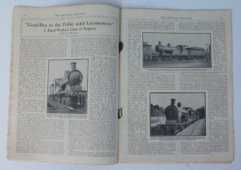 Vintage *September 1934* MECCANO Magazine Boys - 2