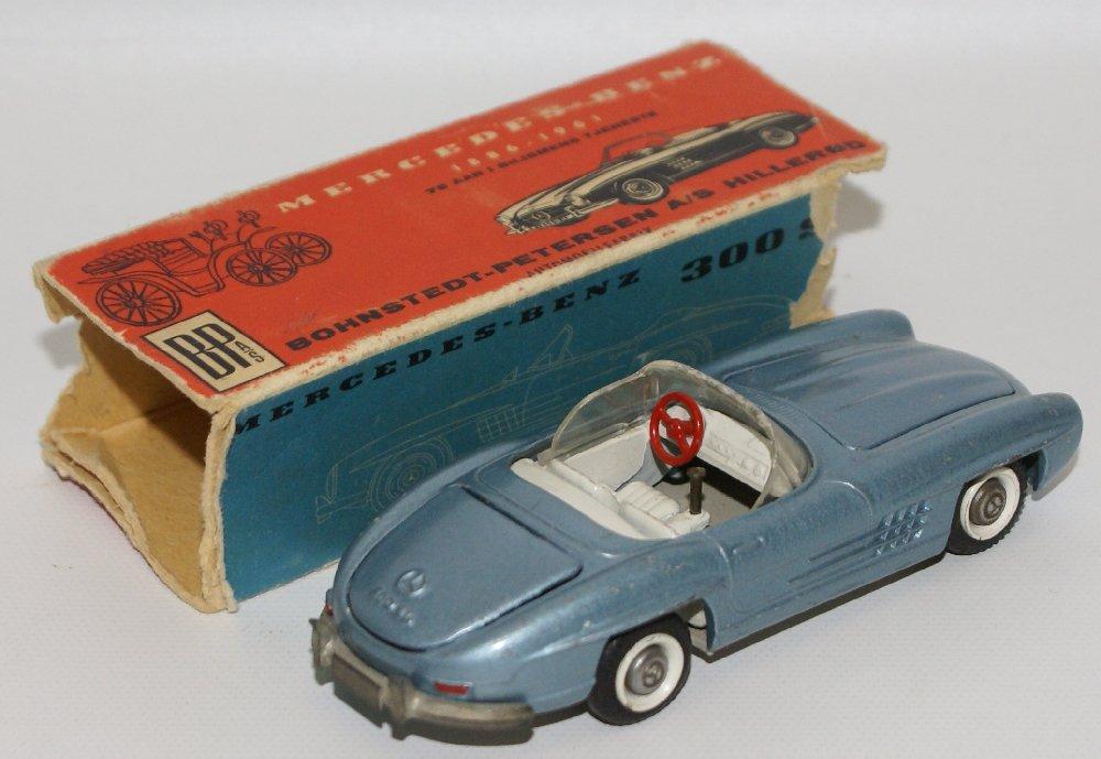 Vintage TEKNO (Denmark) 1:43 Scale Diecast MERCEDES - 2