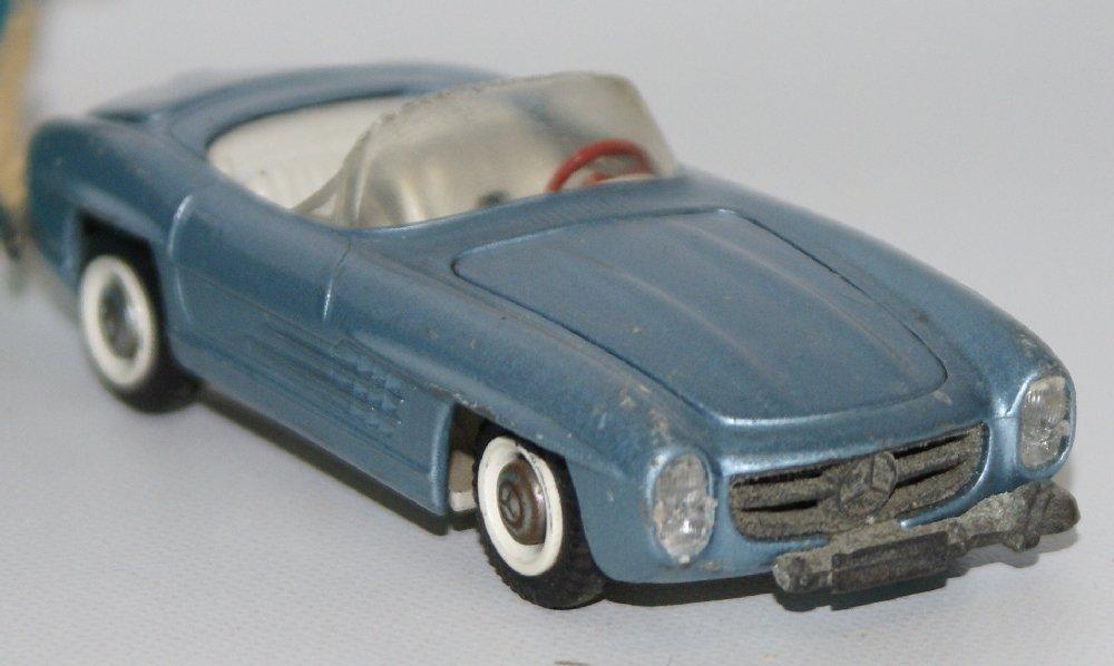 Vintage TEKNO (Denmark) 1:43 Scale Diecast MERCEDES - 3