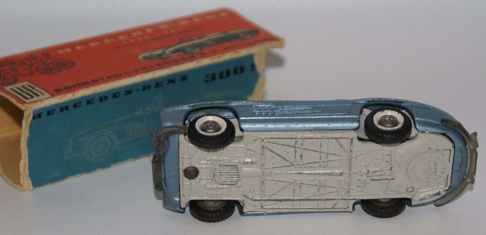 Vintage TEKNO (Denmark) 1:43 Scale Diecast MERCEDES - 4