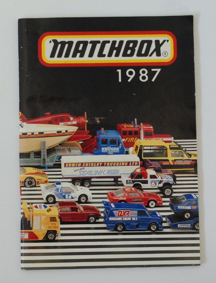 Vintage 1987 MATCHBOX Diecast Collector's Toy Dealer
