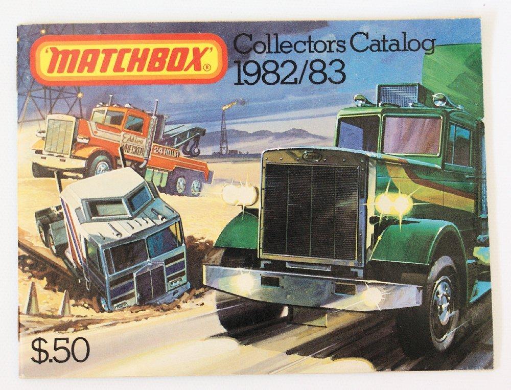 Vintage 1982/83 MATCHBOX LESNEY Collector's Toy Dealer