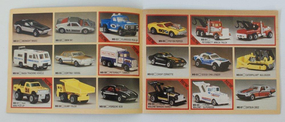 Vintage 1982/83 MATCHBOX LESNEY Collector's Toy Dealer - 2