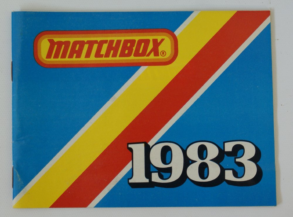 Vintage 1983 MATCHBOX LESNEY Collector's Toy Dealer