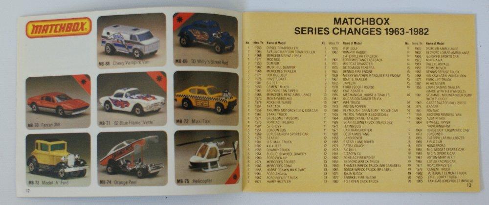 Vintage 1983 MATCHBOX LESNEY Collector's Toy Dealer - 2