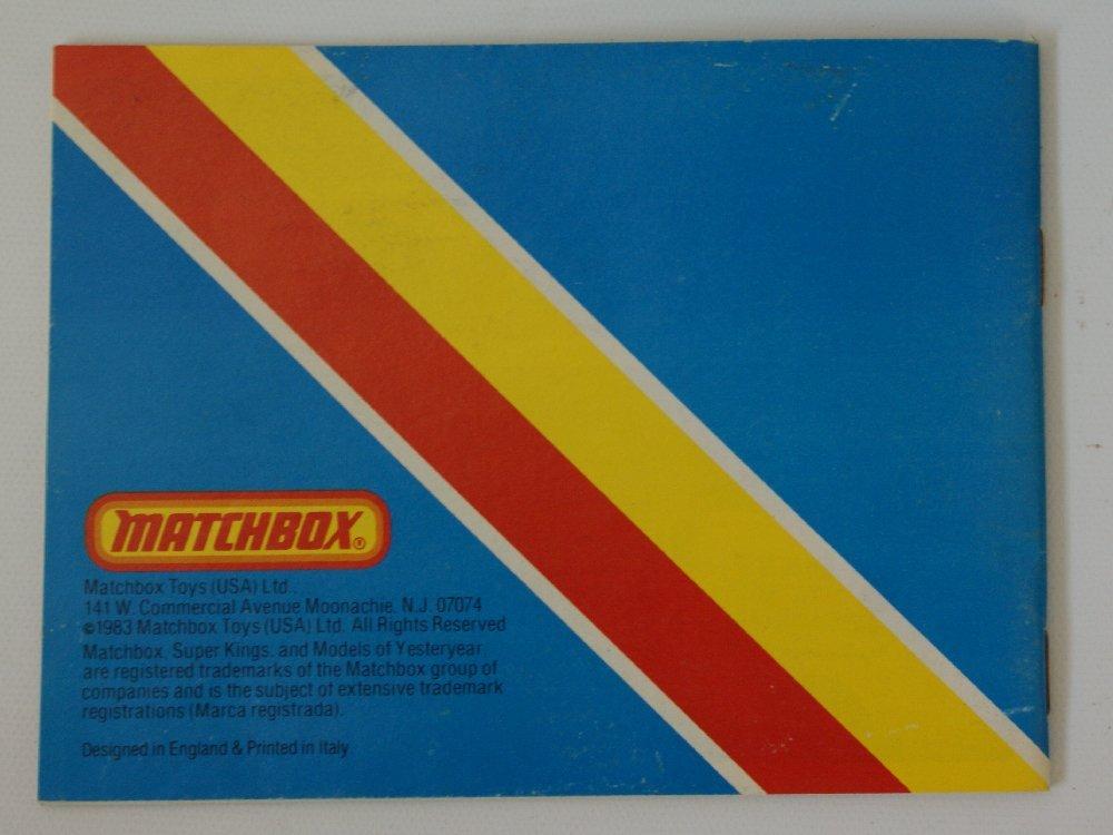 Vintage 1983 MATCHBOX LESNEY Collector's Toy Dealer - 3