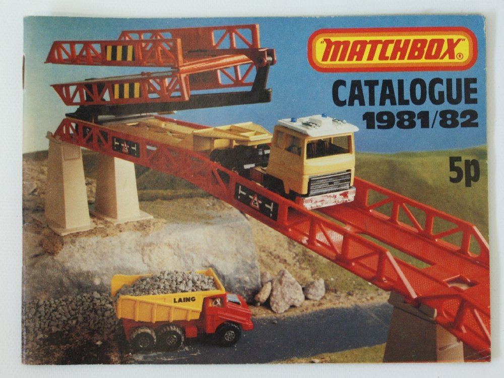 Vintage 1981/82 MATCHBOX LESNEY Collector's Toy Dealer