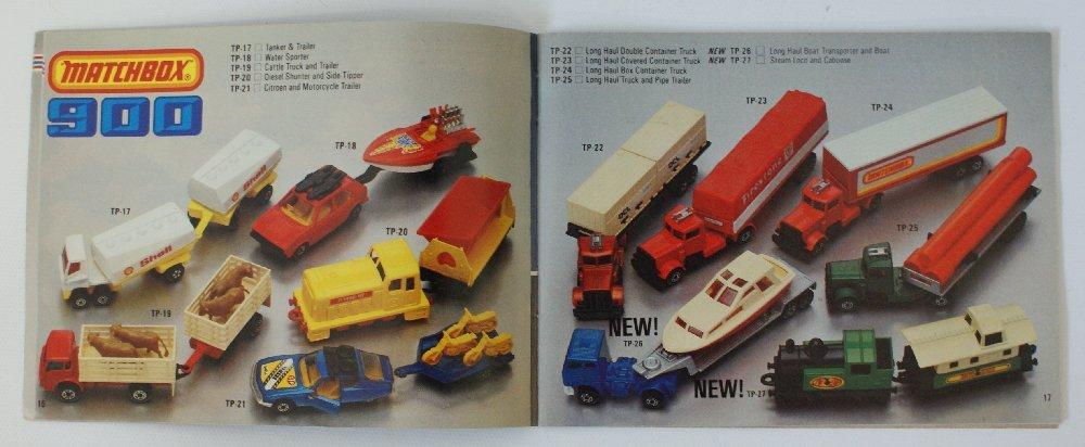 Vintage 1981/82 MATCHBOX LESNEY Collector's Toy Dealer - 2